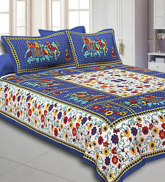Place Of Double Bed Sheets